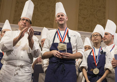 Alumnus To Represent US at Bocuse d'Or